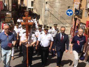 La Policía Nacional se suma a la conmemoración del Año Jubilar 2017 de Caravaca