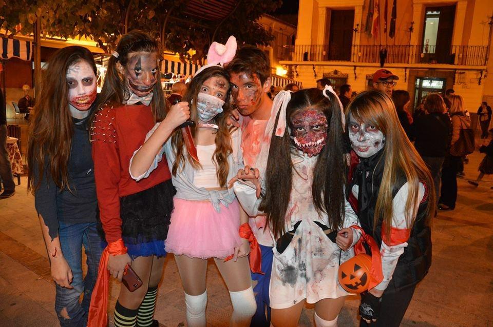 Una transformación terrorífica - Halloween
